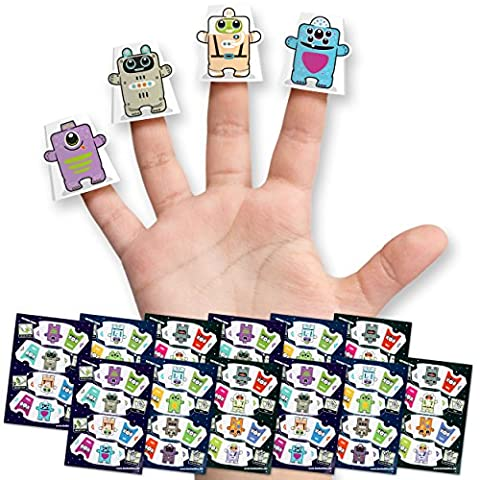 Box Buddies Papercraft Finger Puppets - Space Party Bag Fillers