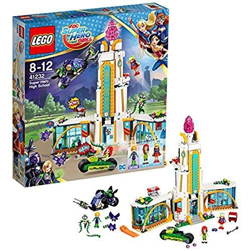 LEGO DC Super Hero Girls 41232 - Highschool der Super Heroes, Superhelden-Spielzeug (Dc-spielzeug)