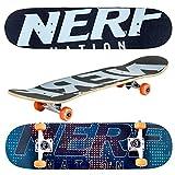 "Flybar Nerf 31"" x 8"" Komplett 7 Schichten Ahornholz Klassischer Doppel-Kick Skateboard"