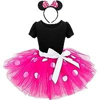 Lito Angels Bébé Filles Mickey Minnie S'habille Costume Pois Fantaisie Robe 261