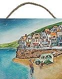 Joe Ramm (Cornish in legno da parete, multicolore, 20x 20cm