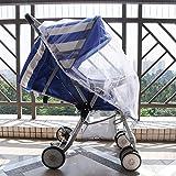 Best poussette de bébé GÉNÉRIQUE - RDJM Moustiquaire enfants bébé parapluie voiture poussette de Review
