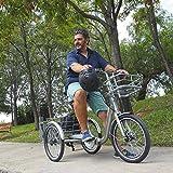 Monty Klappbares Elektro Dreirad für Erwachsene E132, Farbe:dunkelgrau Test