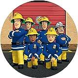 Tortenaufleger Feuerwehrmann Sam2 / 20 cm Ø