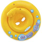 عوامة قابلة للنفخ للاطفال من انتكس - اصفر وتركواز