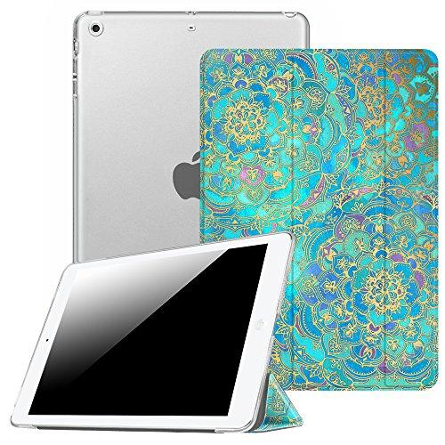 Fintie iPad mini Hülle - Ultradünne Superleicht Schutzhülle mit transparenter Rückseite Abdeckung Cover mit Auto Schlaf / Wach Funktion für Apple iPad Mini / iPad Mini 2 / iPad Mini 3, Jade
