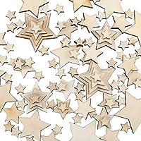 Holz Weihnachtsbaum Anhänger Holz Farbe Fit Dekoration Scrapbooking 30mm