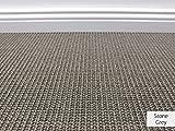 Die HEVO® Sisal Naturfaser Kollektion - Manolo Sisal Teppichboden in 5 Farben - Inkl. 2% HEVO® Bestellgutschein - Stone Grey