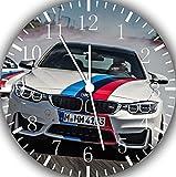 Ikea BMW M4 Wanduhr, 25,4 cm, Wird EIN schönes Geschenk und Zimmer Wanddekoration E176
