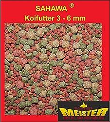 Koifutter 3 -6 mm 5 Sorten Spezialmischung 10 Liter Beutel