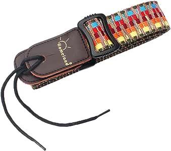 Einstellbar Stripy Bügelgurt Tragegurt Schultergurt Für Ukulele Gitarre Banjo