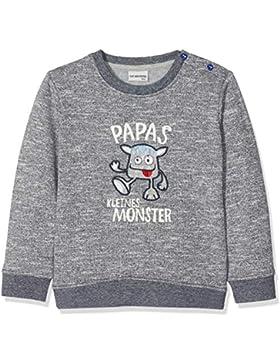 SALT AND PEPPER Baby-Jungen Sweatshirt B Monster Uni