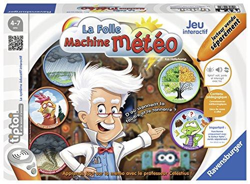 Ravensburger - 00784 - Jeu Interactif Tiptoi La Folle Machine Météo 4005556007844