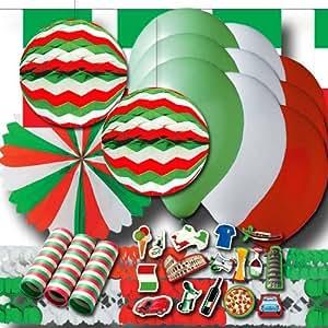 Italien Partydekoset Grundausstattung