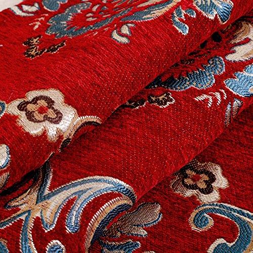 Europäischen stil jahreszeiten für sofa-handtuch,Sitzkissen,Das l-förmige chaise-kissen-B 90x240cm(35x94inch) (L-förmige Sofas)