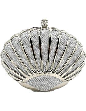 Shiratori Mini Seashell Geldbeutel für Frauen Clutch Handtaschen für Mädchen