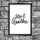 Motivational Inspirational Positive Thoughts Quote Picture Poster Print Wall 144