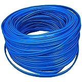 10 Meter Strom Flachkabel blau 230V 4 x 0,5 mm² Stromkabel Tiefbrunnenpumpe Wasserpumpen Ersatzteil