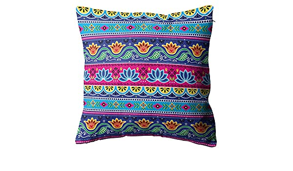 Joaffba Throw Pillow Cover Pakistani