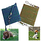 LONG DOG TIE OUT ROPE LINE ANIMAL PET GARDEN SAFETY CABLE GROUND STRONG LEAD