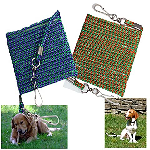 LONG DOG TIE OUT ROPE LINE ANIMAL PET GARDEN SAFETY