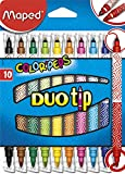 Maped M849010 - Filzstifte Color Peps Duo Tip, 10 Stück