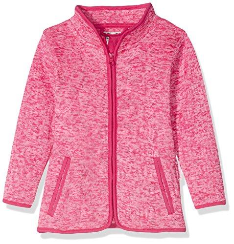 Playshoes Kinder-Jacke aus Fleece, atmungsaktives und hochwertiges Jäckchen mit Reißverschluss, pink, 2-3 Years (Manufacturer Size:98)