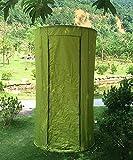 HAIPENG Außendusche Wechsel Kleidung Zelt Warm Und Warm Halten Toilettenzelte Angeln Fotografie Zelte Blau Und Grün (Farbe : Green, größe : 110 * 190cm)