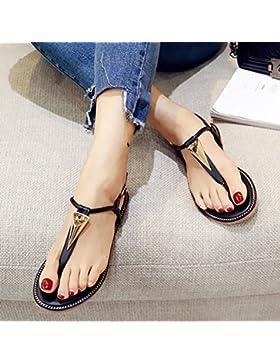 SDKIR-Agganciare i piedi sandali femmina grandi calzature donna estate fertilizzante selvatici pin coreano fondo...