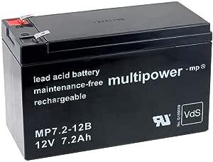 Akku Net Blei Ersatzakku Kompatibel Mit Usv Apc Back Ups Es 550 12v Lead Acid