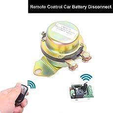 Cocar 12V Telecomando Antifurto Interruttore Staccabatteria 12V Vehicle Relè a Ritenuta Elettromagnetica OnOff Stuck Morsetto Stacca Batteria per Auto