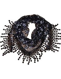 Westeng Femme Foulards en Dentelle Gland Écharpes Châles Créatif Mode  Elégante pour Printemps Automne ... 7edd6f20d93