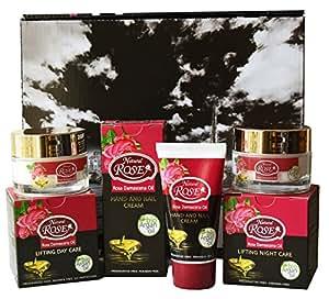 """Natural Rosa cofanetto regalo """"Lifting Cura di Giorno, cura di notte, crema per le mani e le unghie"""