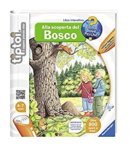 Ravensburger 00656 - Libro tiptoi Descubriendo Bosco