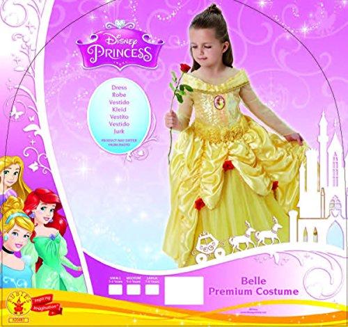 Imagen de princesas disney  disfraz infantil bella premium, l rubie's spain 620473 l  alternativa
