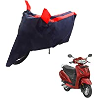 Mototrance Sporty Arc Bike Body Cover For Honda Activa 4G(Blue,Red)