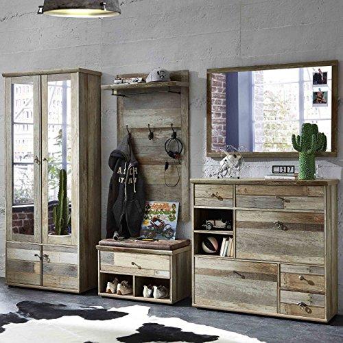 e-combuy Möbel Kompakt Garderobe