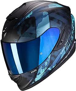 Schwarz//Blau HJC Helmets Unisex Nc Motorrad Helm XL