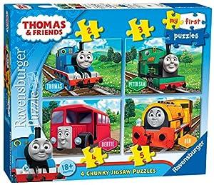 Ravensburger Thomas & Friends My First Puzzle 5pieza(s) - Rompecabezas (Jigsaw Puzzle, Dibujos, Niño/niña, 1 año(s), 1,5 año(s), 170 mm)