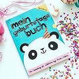 Mein Geburtstagsbuch – Ein Erinnerungsalbum für die schönsten Tage Deines Lebens als Buch in DIN A4 im Hardcover für alle Geburtstage von der Geburt bis zum 18. inkl. Party-Deko-Set zum Download