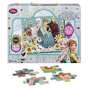 Puzzle 64 pièces La Reine des Neiges: une Fête Givrée Disney