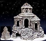 Decorativo Lucchetto grotta pietre per acquario pesce in ceramica castello, klosterneuburg angolare