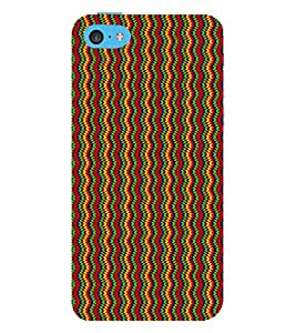 Fuson Designer Back Case Cover for Apple iPhone 5c ( Ethnic Pattern Patterns Floral Decorative Abstact Love Lovely Beauty )