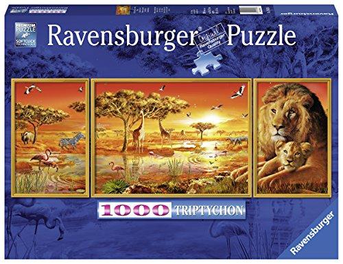 Ravensburger-Puzzle-19836-Afrikanische-Impressionen