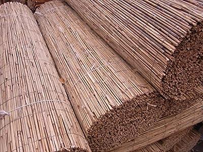Schilfmatte Sichtschutz Schilfrohrmatte Windschutz Strohmatte EU Ware 160 x 600 cm - nur 3,- € Versand / Blitzversand 1,6 x 6 m von BIHL bei Du und dein Garten