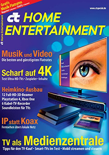 c\'t Home Entertainment 2014: Tests und Beratung rund um Video und Audio