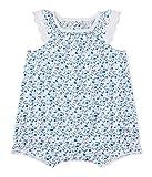 Petit Bateau Baby-Mädchen Spieler Combicourt 27359, Mehrfarbig (Ecume/Multico 37), 62 (Herstellergröße: 3m/60cm)
