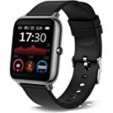 Smartwatch, Orologio Fitness Tracker Uomo Donna Smart Watch Sonno Cardiofrequenzimetro, Sportivo Activity Tracker Contapassi
