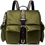Michael Kors Womens Medium Flap Backpack, 333Olive - 30S9GOVB2C333