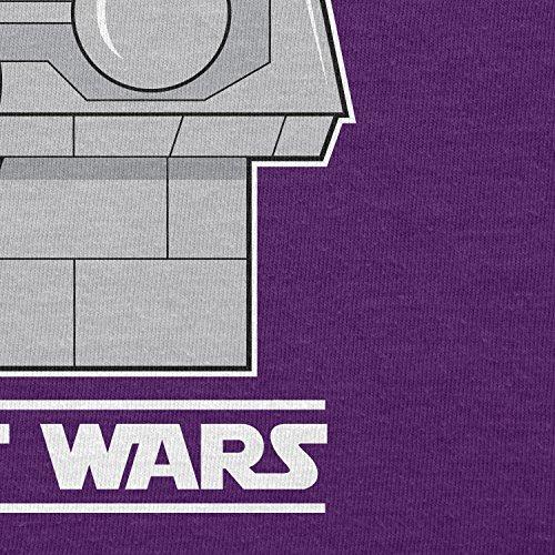 TEXLAB - Peanut Wars - Herren T-Shirt Violett